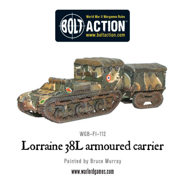 Lorraine 38L armoured carrier