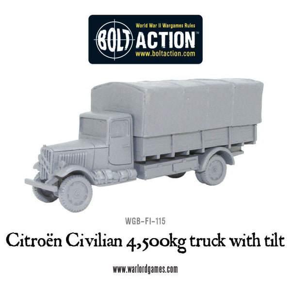 Citroen Civilian 4,500kg  truck with Canopy