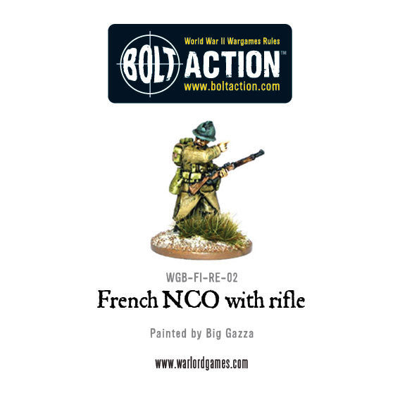 French NCO with Rifle