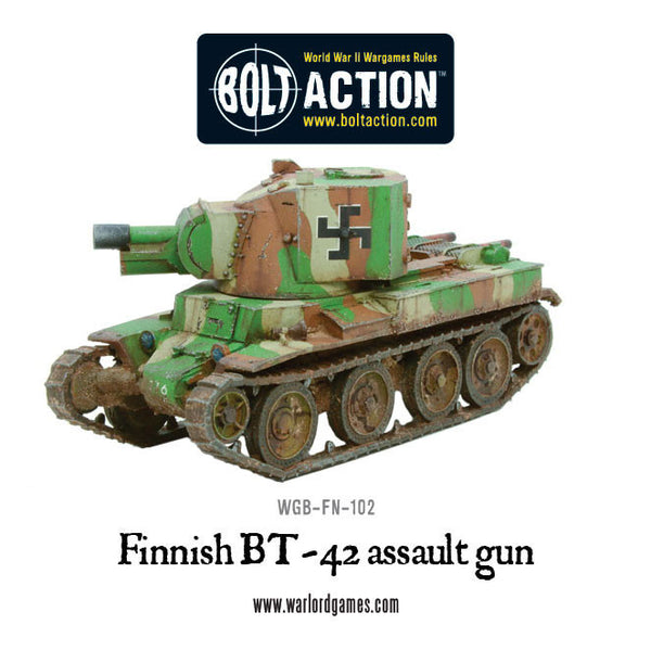 Finnish BT-42 assault gun