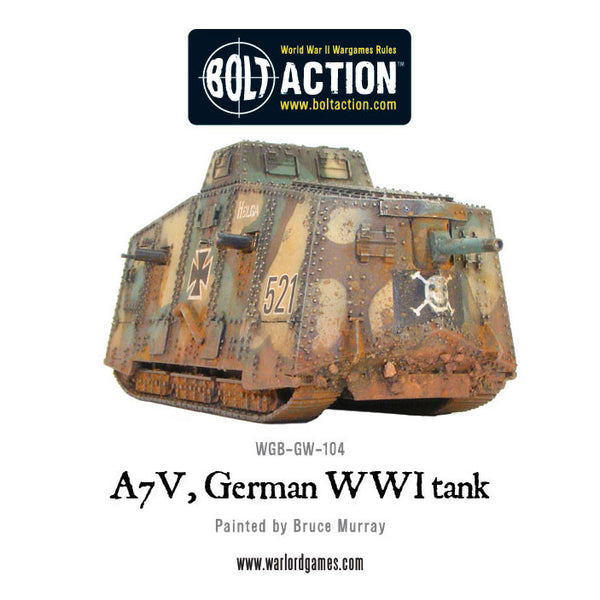 A7V, German WWI tank