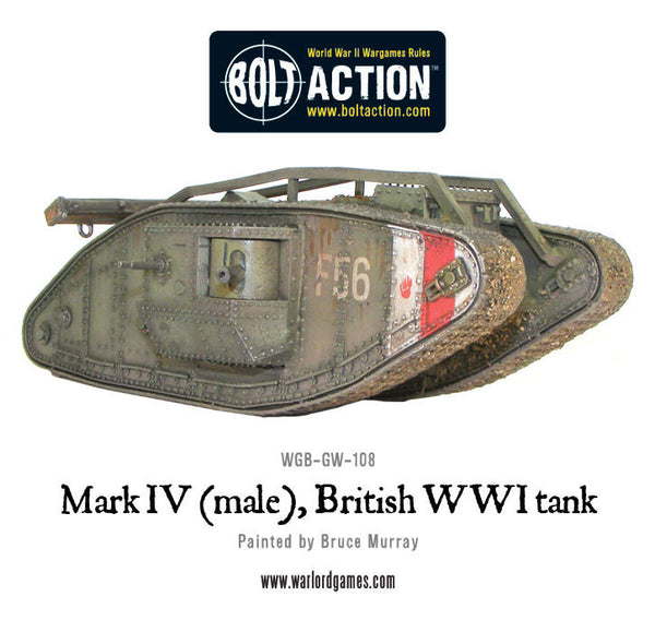 Mark IV (male), British WWI tank