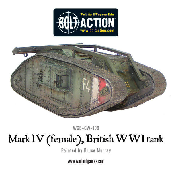 Mark IV (female), British WWI tank