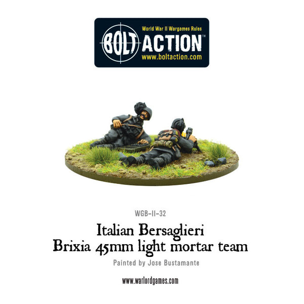 Italian Bersaglieri Brixia light mortar