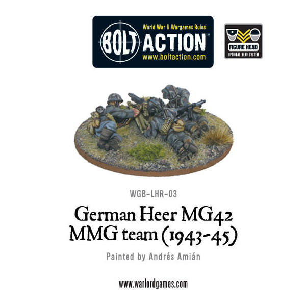 German Heer MG42 MMG Team (1943-45)