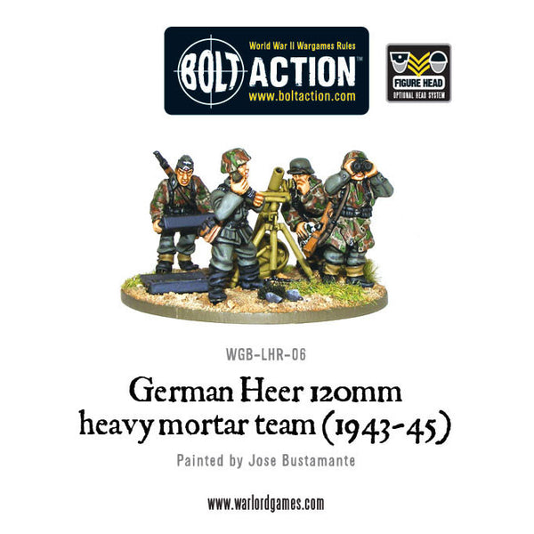 German Heer 120mm heavy mortar team (1943-45)