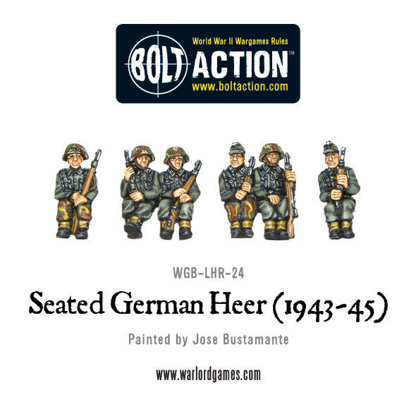 Seated German Heer (1943 - 45)