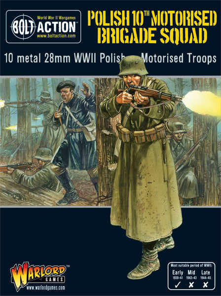 Polish 10th Motorised Brigade Squad