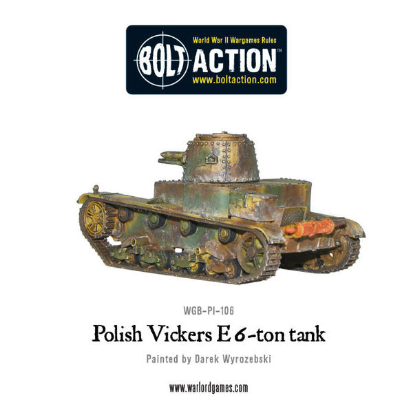Polish Vickers E 6-ton tank