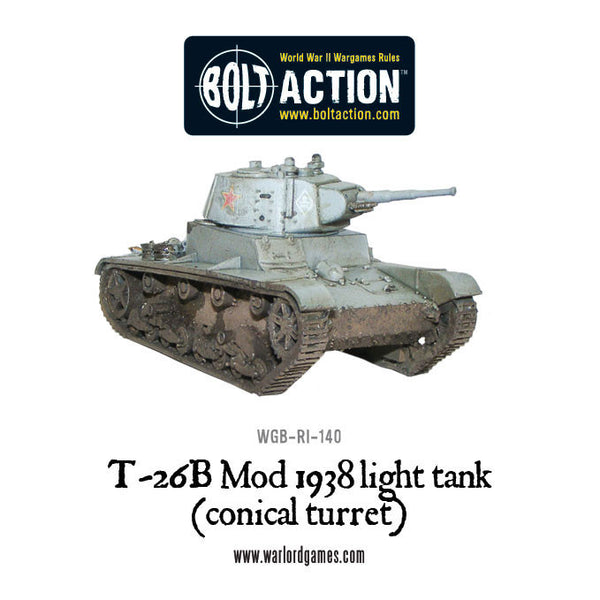 T-26B Mod 1938 light tank (conical turret)