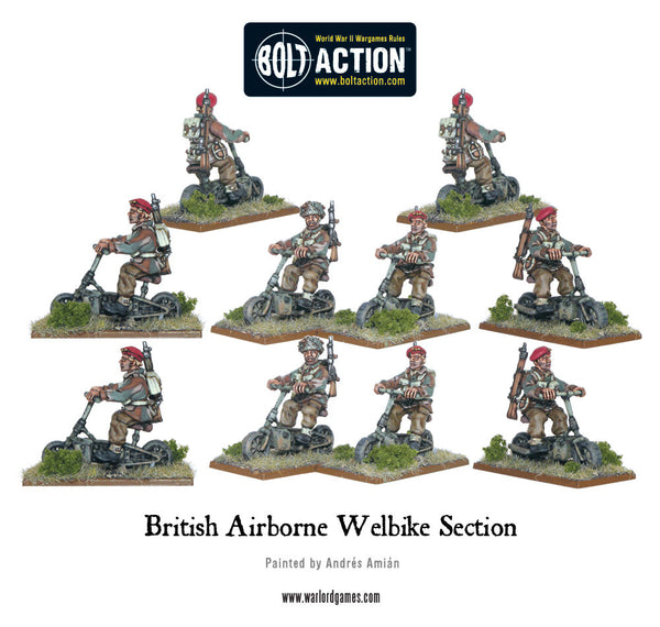 British Airborne Welbike Section