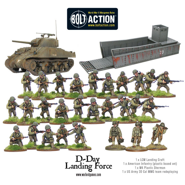 US D-Day Landing Force