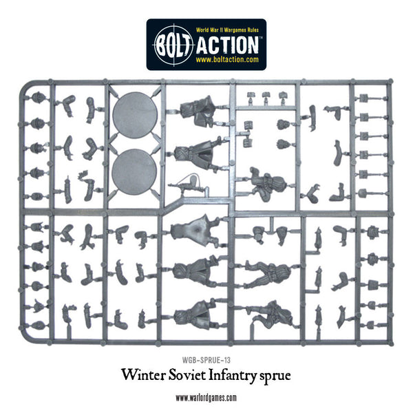 Winter Soviet infantry sprue