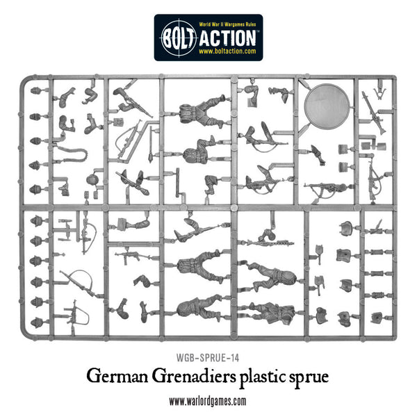 German Grenadier Sprue