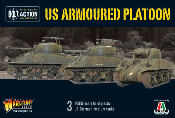 US armoured platoon