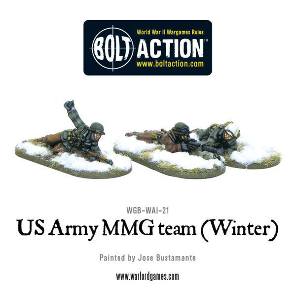 US Army MMG team (Winter) - Prone