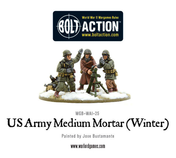 US Army Medium Mortar (Winter)