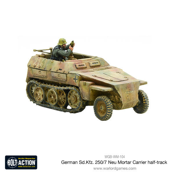 Sd.Kfz 250/7 Neu Mortar Carrier half track