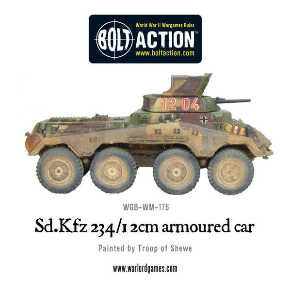 Sd.Kfz 234/1 2cm armoured car