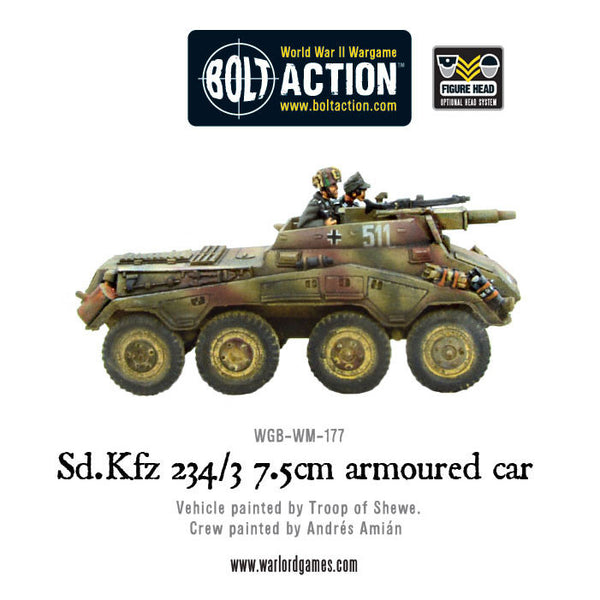Sd.Kfz 234/3 7.5cm armoured car
