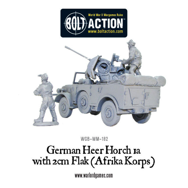 Horch 1a with 2cm Flak (Afrika Korps)