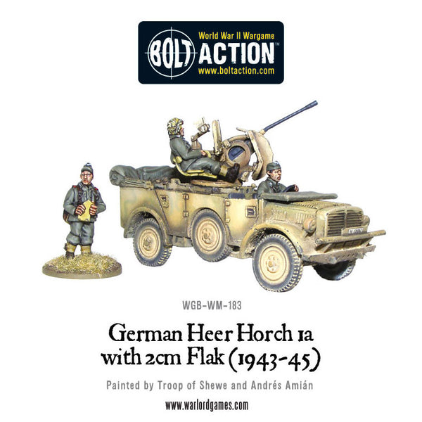 Horch 1a with 2cm Flak (Heer 1943-45)
