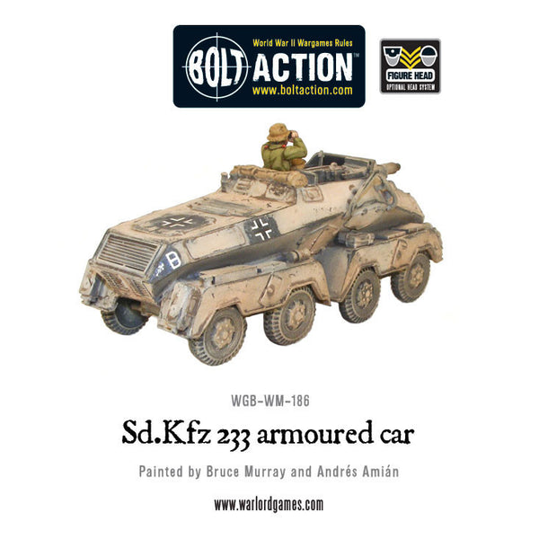 Sd.Kfz 233 armoured car