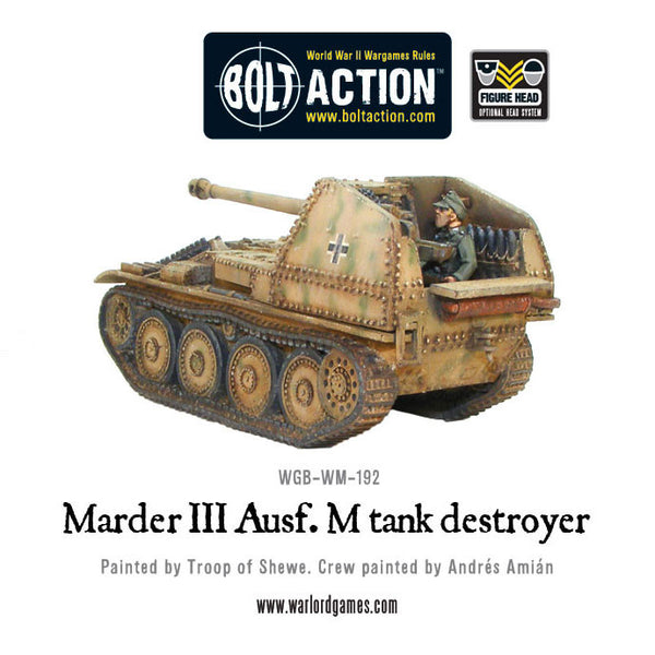 Marder III Ausf. M tank destroyer