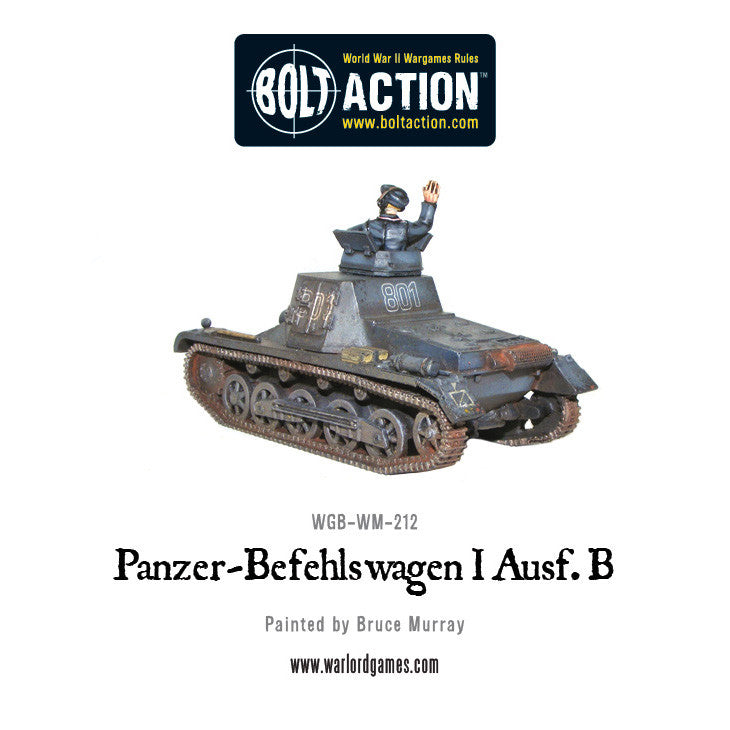 Panzer-Befehlswagen I Ausf. B - Warlord Games