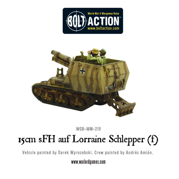 Heavy SP Battery 15cm sFH auf Lorraine Schlepper(f) Deal