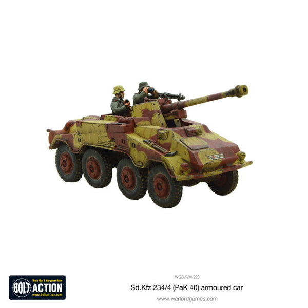 Sd.Kfz 234/4 (PaK 40) armoured car