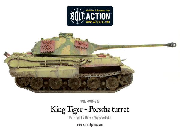 King Tiger (Porsche Turret)