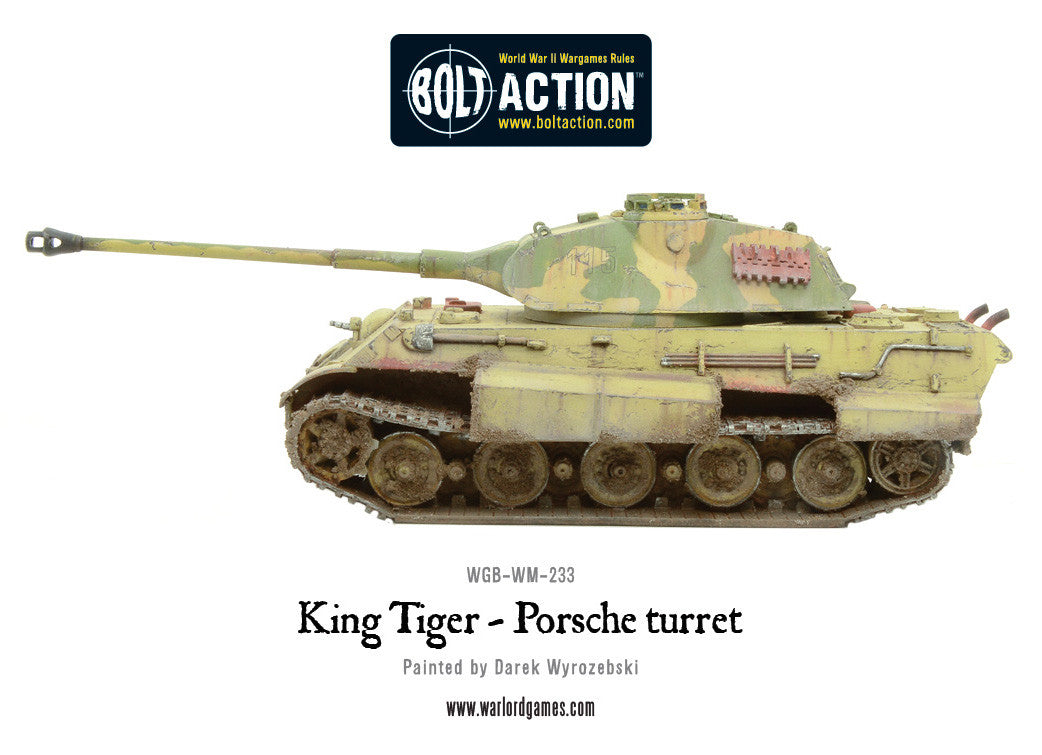 King Tiger Porsche Turret Warlord Games