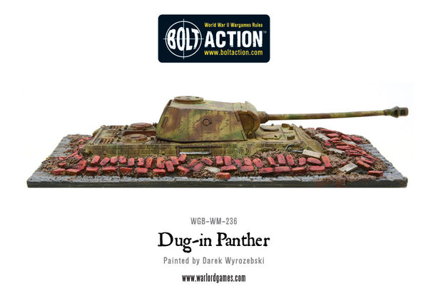 Dug-in Panther