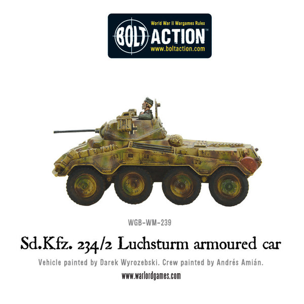 Sd.Kfz 234/2 Luchsturm armoured car