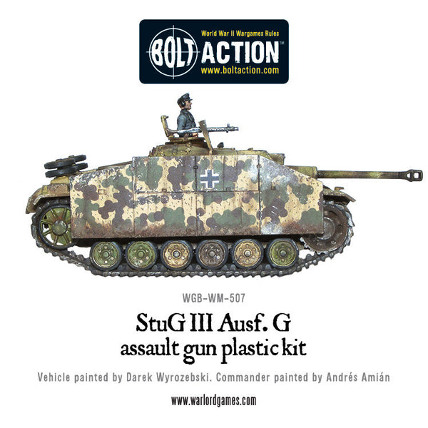 Stug III ausf G or StuH-42 plastic box set
