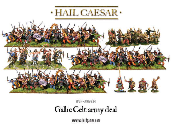 Gallic Celt army deal