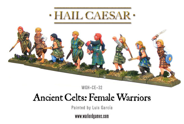 Ancient Celts: Female Warriors pack