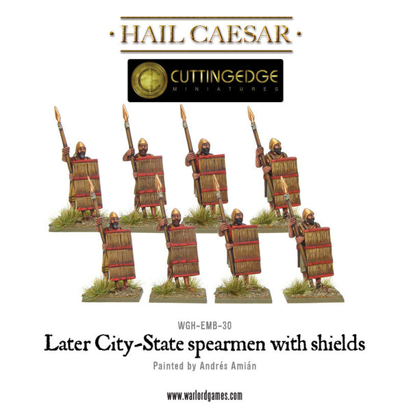 Later City-State spearmen with shields