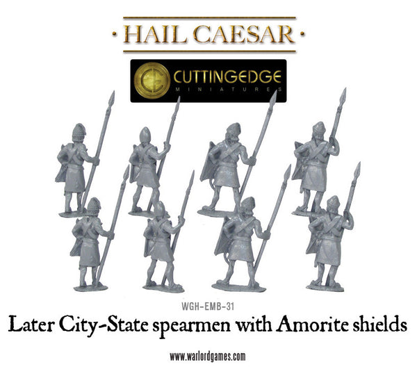 Later City-State spearmen with Amorite shields