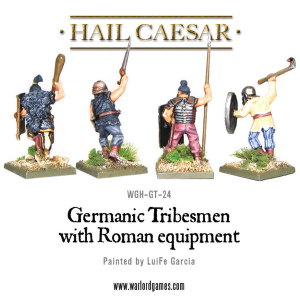 Germanic tribesmen with  Roman equipment