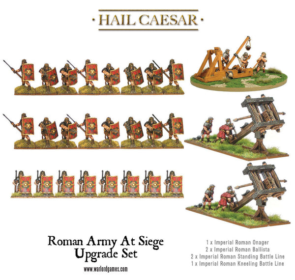 Roman Army at Siege upgrade set