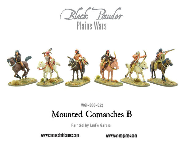 Mounted Comanches B