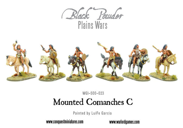 Mounted Comanches C