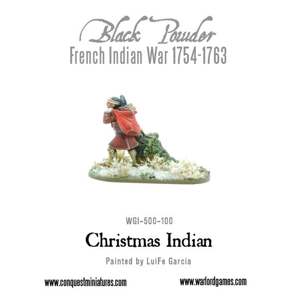 Christmas Indian Warrior