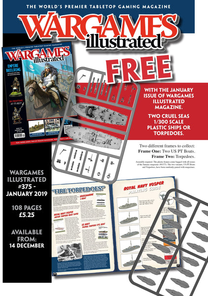 Wargames Illustrated Issue 375 January 2019 Edition (With FREE PT Boat)