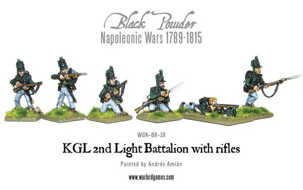 KGL 2nd Light Battalion with rifles