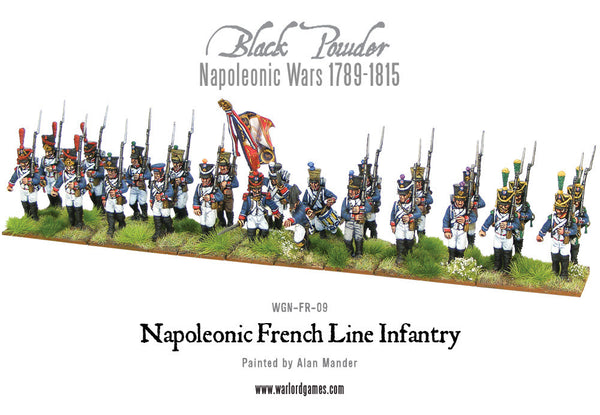 Napoleonic French Line Infantry