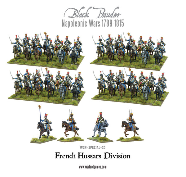 Napoleonic French Hussars Division