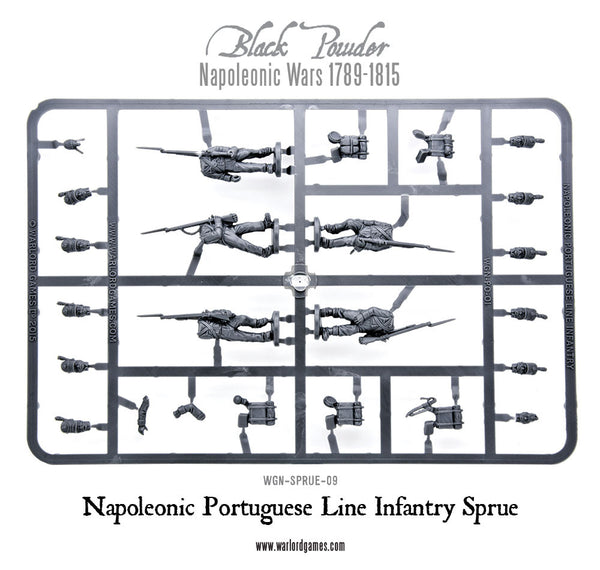 Portuguese Line Infantry sprue
